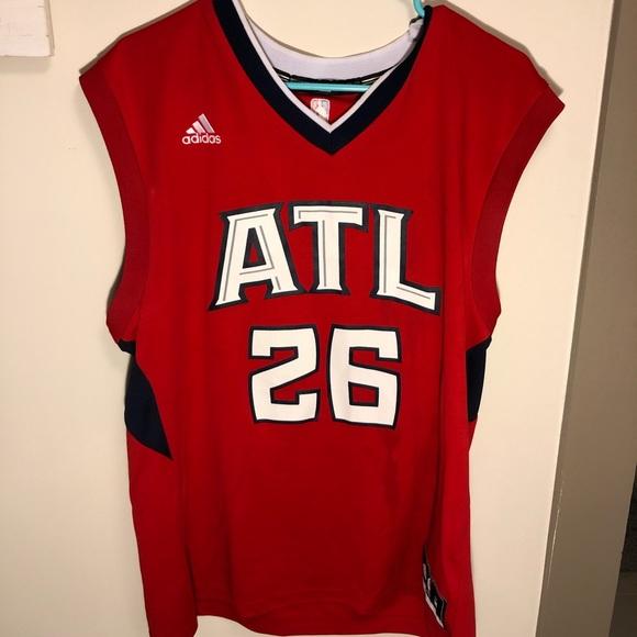 on sale 07c0d 366ec Atlanta Hawks Kyle Korver Authentic Jersey